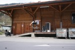 Illanz Bahnhof, nollie heel flip